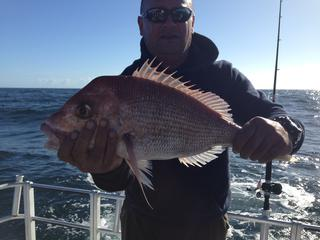 Lawrence with his Snapper